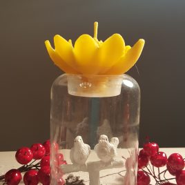 Lily Candle. Just to brighten your day.