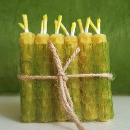 Birthday Cake Candles – Set of 12. Burning time up to 20-30 minutes