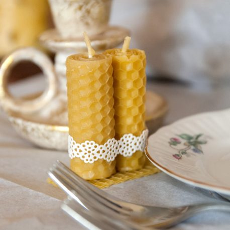wedding favour beeswax candles ireland