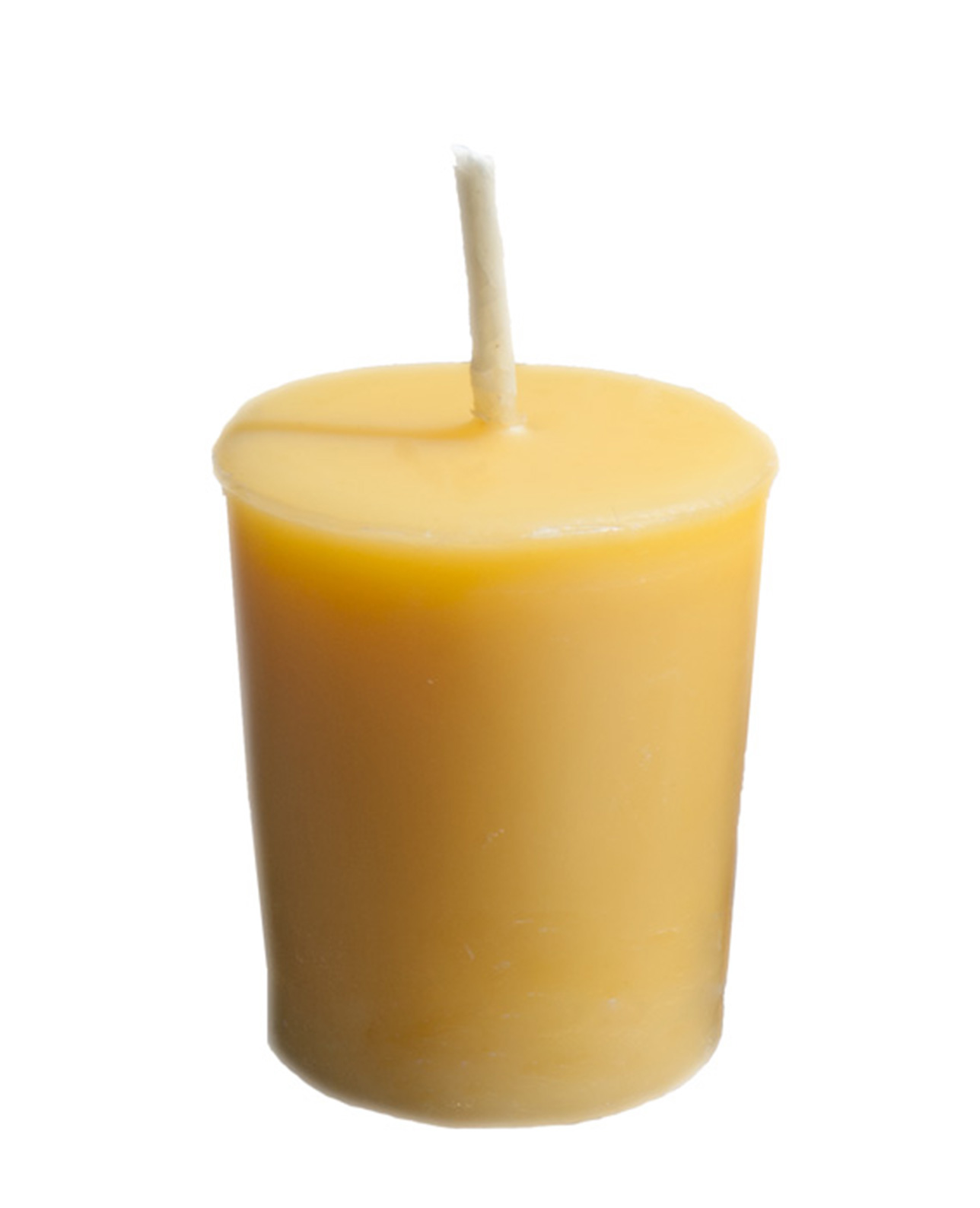 Votive Candle Set 4 Pure Beeswax Candles Burning Time Up