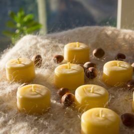 T Light Beeswax Candle Refills