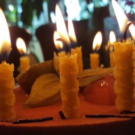 Birthday Cake Candles – Set of 12. Burning time up to 20 – 30 min