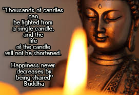 BeesWax Candle and Budha