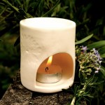 oilburner with candle aromatherapy